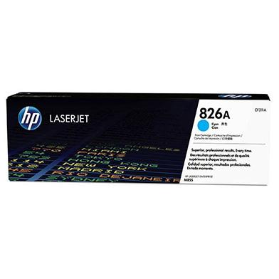 HP CF311A 826A Cyan Toner Cartridge (31,500 pages)