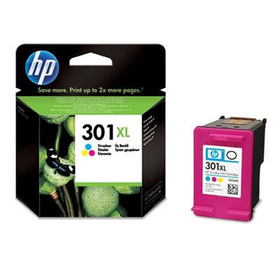HP No.301XL Tri-Colour Ink Cartridge
