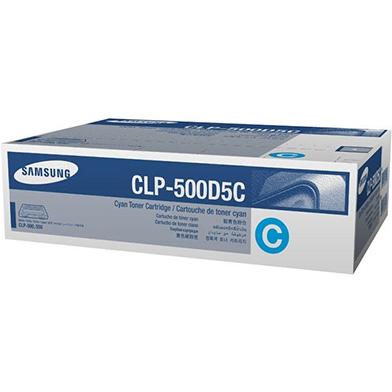 Samsung CLP-500D5C Cyan Toner Cartridge (5,000 pages)