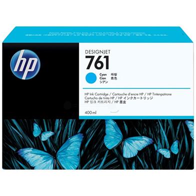 HP No. 761 Cyan Ink Cartridge (400ml)