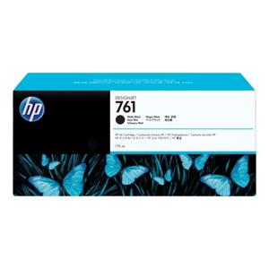 HP No. 761 Matte Black Ink Cartridge (775ml)