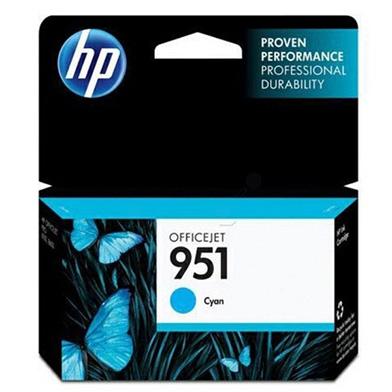 HP CN050AE 951 Cyan Ink Cartridge (700 Pages)