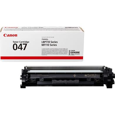 Canon 047 Black Toner Cartridge (1,600 Pages)