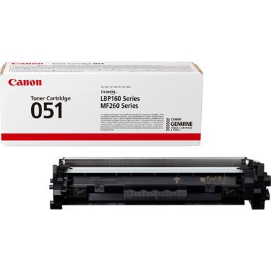 Canon 051 Black Toner Cartridge (1,700 Pages)