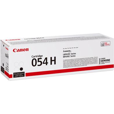 Canon 054H Black Toner Cartridge (3,100 Pages)