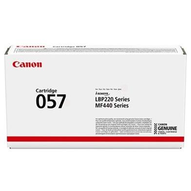 Canon 057 Black Toner Cartridge (3,100 Pages)