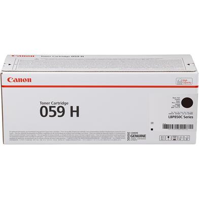 Canon 059H Black Toner Cartridge (15,500 Pages)