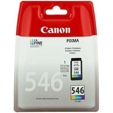 Canon CL-546 Colour Ink Cartridge (180 Pages)