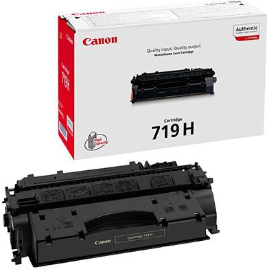Canon 719H Black Toner Cartridge (6,400 Pages)