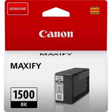 Canon PGI-1500BK Black Ink Cartridge (400 Pages)