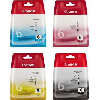 Canon BCI-6 CMYK Ink Cartridge Multipack
