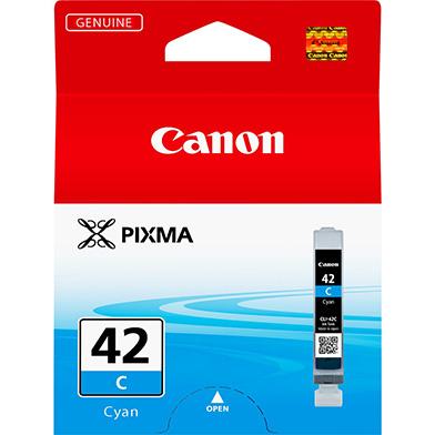 Canon 6385B001 CLI-42C Cyan Ink Cartridge (600 Photos)