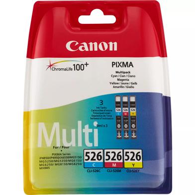 Canon 4541B009 CLI-526 CMY Ink Cartridge Multipack