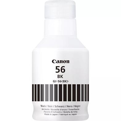 Canon GI-56BK Black Ink Bottle (6,000 Pages)