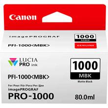 Canon PFI-1000MBK Matte Black Ink Cartridge (1600 Photos)