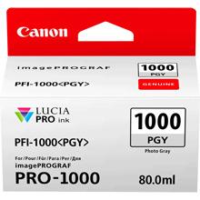 Canon PFI-1000PGY Photo Grey Ink Cartridge (270 Photos)