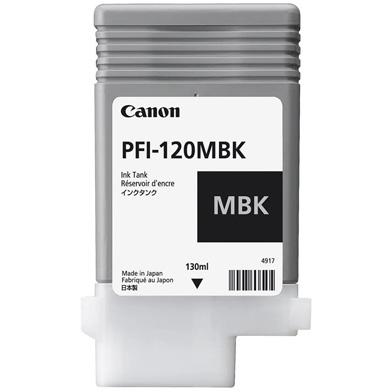 Canon PFI-120MBK Matte Black Ink Cartridge (130ml)