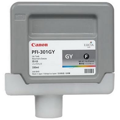 Canon PFI-301FGY Grey Ink Cartridge (330ml)