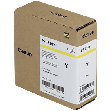 Canon PFI-310Y Yellow Ink Cartridge (330ml)