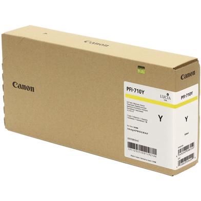 Canon PFI-710Y Yellow Ink Cartridge (700ml)
