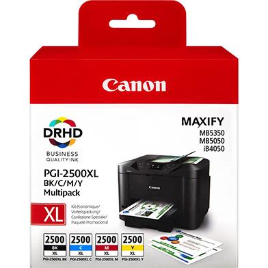 Canon PGI-2500XL CMYK Ink Cartridge Multipack