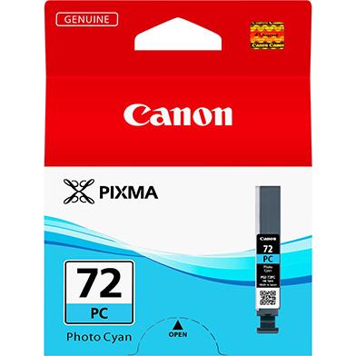 Canon 6407B001 PGI-72PC Photo Cyan Ink Cartridge (89 Photos)