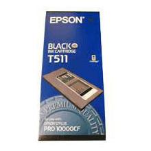 Epson Black T511 Ink Cartridge (500ml)