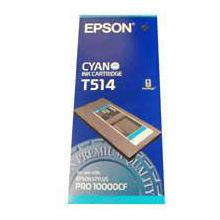 Epson Cyan T514 Ink Cartridge (500ml)