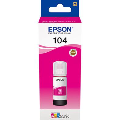 Epson 104 Magenta Ink Bottle (7,500 Pages)