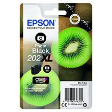 Epson Photo Black 202XL Claria Premium Ink (800 Pages)