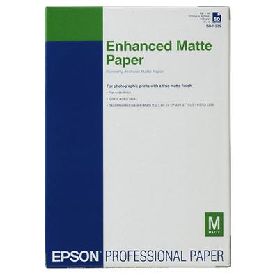 Epson Enhanced Matte Paper - 192gsm (A2 / 50 Sheets)