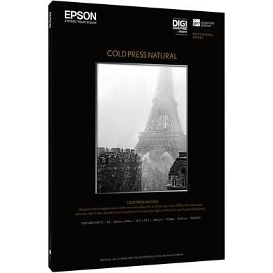 Epson Cold Press Natural - 340gsm (A3+ / 25 Sheets)