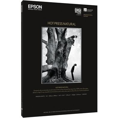 Epson Hot Press Natural - 330gsm (A3+ / 25 Sheets)