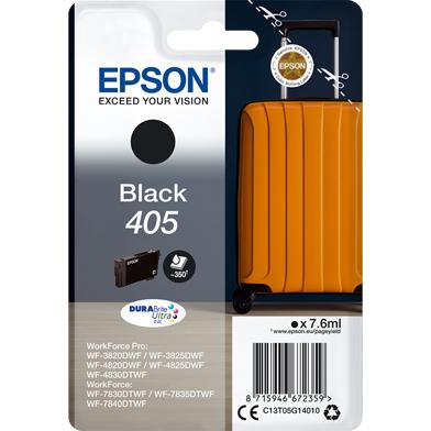 Epson C13T05G14010 405 Black DURABrite Ultra Ink Cartridge (350 Pages)