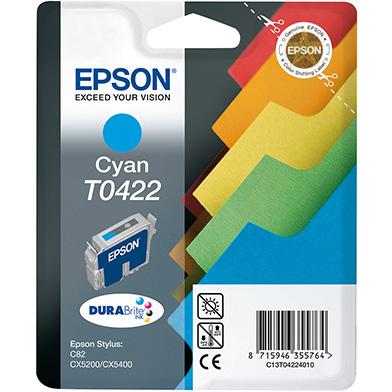 Epson Cyan T0422 Ink Cartridge (16ml)