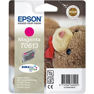 Epson Magenta T0613 Ink Cartridge (8ml)