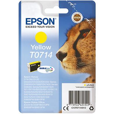 Epson Yellow T0714 Ink Cartridge (5.5ml)