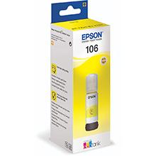 Epson EcoTank 106 Yellow Ink Bottle (70ml)