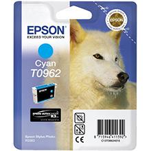 Epson Cyan T0962 Ink Cartridge (11ml)