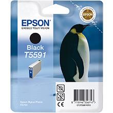 Epson Black T5591 Ink Cartridge (13ml)