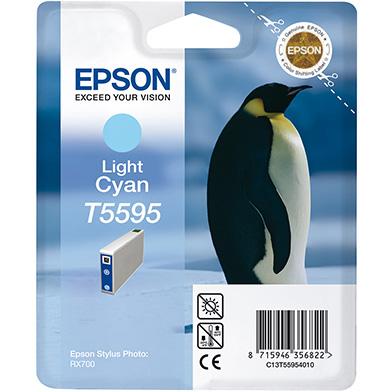 Epson Light Cyan T5595 Ink Cartridge (13ml)