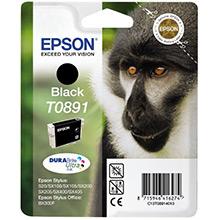 Epson Black T0891 Ink Cartridge (5.8ml)