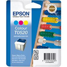 Epson T0520 3 Colour Ink Cartridge (35ml)