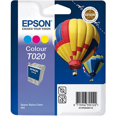 Epson 3 Colour T020 Ink Cartridge (35ml)