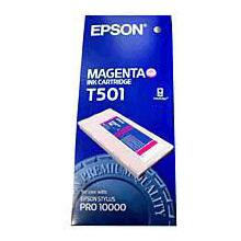 Epson Magenta T501 Ink Cartridge (500ml)