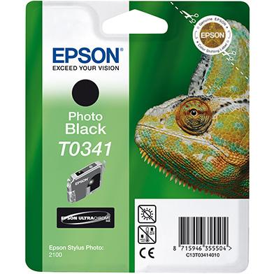 Epson Black T0341 Ink Cartridge (17ml)