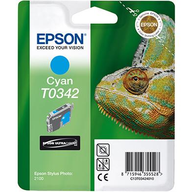 Epson Cyan T0342 Ink Cartridge (17ml)