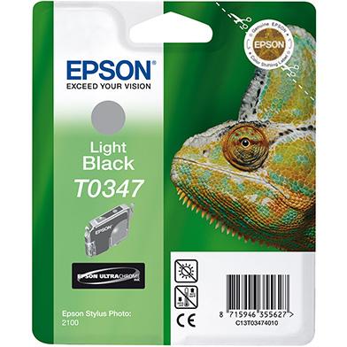 Epson Light Black T0347 Ink Cartridge (17ml)