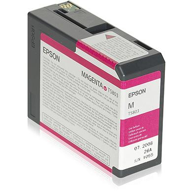 Epson Magenta T5803 Ink Cartridge (80ml)