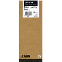 Epson Photo Black T6061 Ink Cartridge (220ml)